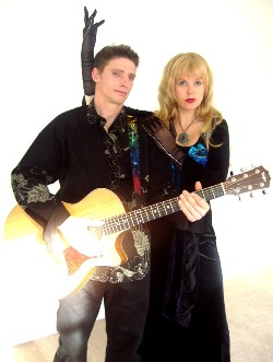 Aymar Gourdet Guitarist & Rhiannon, Coyote Kisses Photoshoot